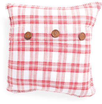 20x20 Plaid Pillow