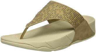 FitFlop Women's Lulu Popstud Toe Post Flip Flop