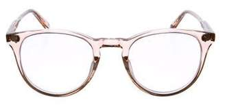 Garrett Leight Milwood Mirrored Sunglasses