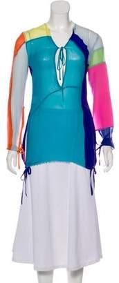 Marques Almeida Marques' Almeida Patchwork Long Sleeve Top