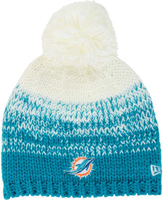 New Era Women's Miami Dolphins Polar Dust Knit Hat