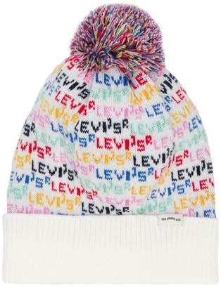 Levi's knitted bobble hat