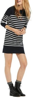 Scotch & Soda Breton-Striped Sweater Dress $98 thestylecure.com