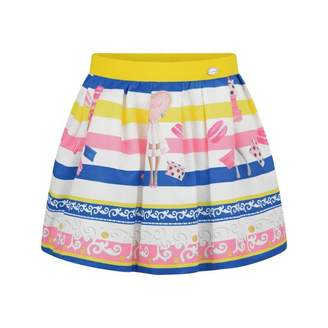 Byblos ByblosGirls Striped Sweet Treats Skirt