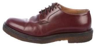 Dries Van Noten Leather Derby Loafers