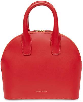 Mansur Gavriel Smooth Mini Leather Satchel Bag