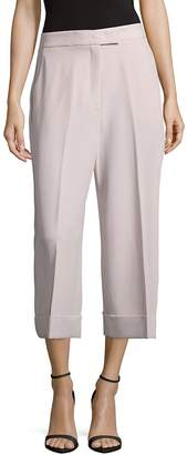 Jones New York Women's Solid Four-Pocket Style Culottes