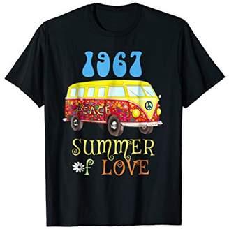 1967 Summer of Love Hippie Peace Van Retro Sixties T-shirt