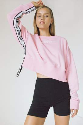 adidas Side Tape Cropped Sweatshirt