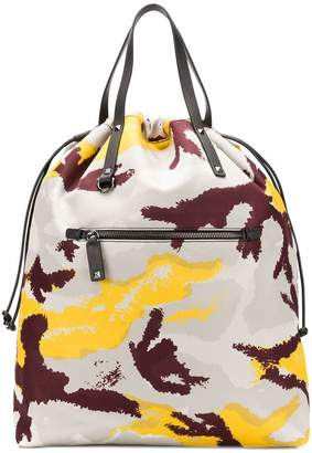 Valentino camouflage backpack