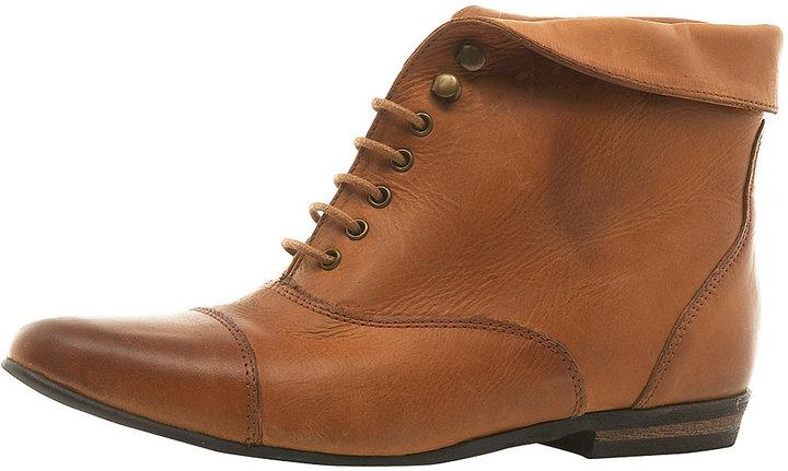 AMBROSE Cuff Lace-Up Boots