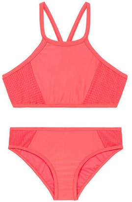 Seafolly NEW Apron Bikini 27036 Rose Red