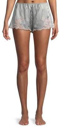 Josie Natori Lolita Silk Lounge Tap Pants
