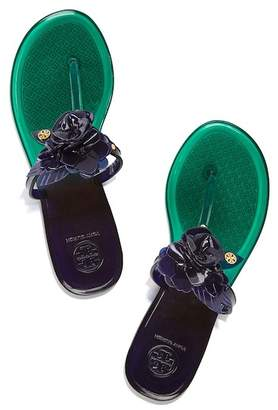 Tory Burch Blossom Jelly Thong Sandal