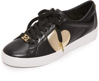 MICHAEL Michael Kors Keaton Heart Sneakers $125 thestylecure.com