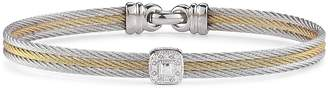 Alor Diamond Stacked Cable Bangle