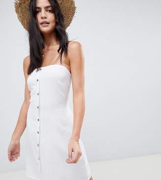 0df92866ef Akasa Exclusive bandeau button front beach dress