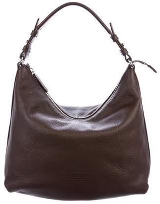 Armani Collezioni Grained Leather Hobo