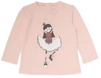 Little Marc Jacobs Ballerina Princess Cotton T-Shirt