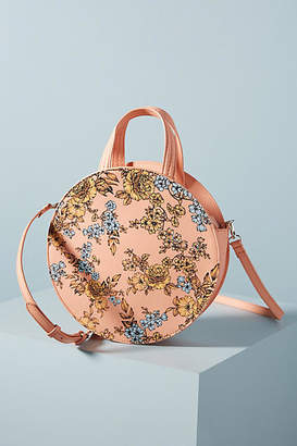 Anthropologie Alana Painted Circle Bag