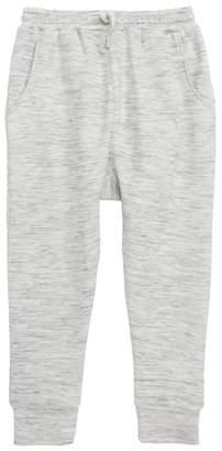 Stem Fuzzy Drop Crotch Joggers