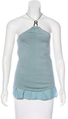 Kaufman Franco Kaufmanfranco Sleeveless Knit Top w/ Tags Blue Kaufmanfranco Sleeveless Knit Top w/ Tags
