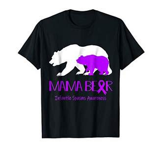 Mama Bear Infantile Spasms Awareness Shirt For Women