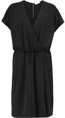 By Malene Birger Wrap-Effect Crepe Dress