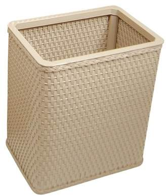 Generic Chelsea Collection Decorator Color Square Wicker Wastebasket
