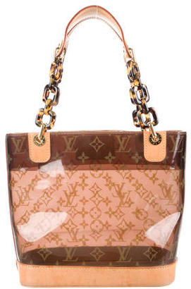 Louis Vuitton Cabas Sac Ambre PM $680 thestylecure.com
