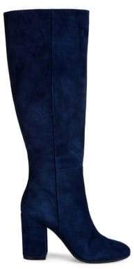 Kenneth Cole New York Clarissa Knee-High Suede Boots