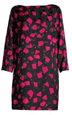 Marc Jacobs Geometric Shift Dress