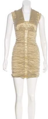 Nicole Miller Tulle Sleeveless Dress