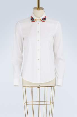 RED Valentino Beaded collar shirt