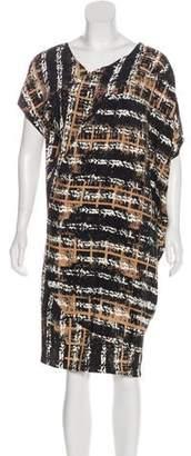 Zero Maria Cornejo Silk Printed Dress
