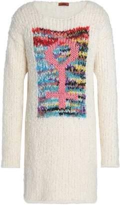 Missoni Paneled Bouclé-Knit Mini Dress