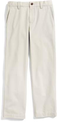 Brooks Brothers Plain-Front Washed Chinos