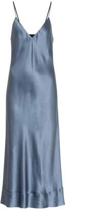 Lee Mathews Rose silk-satin slip dress