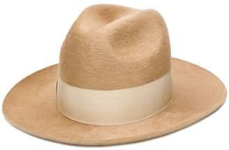 Federica Moretti bow embellished hat