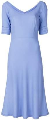 Ermanno Scervino slim-fit scoop dress