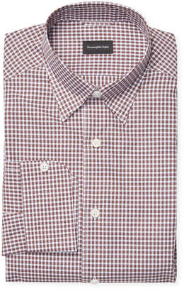 Ermenegildo Zegna Plaid Dress Shirt
