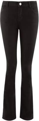 Dorothy Perkins Womens Black 'Ashley' Stretch Bootcut Jeans