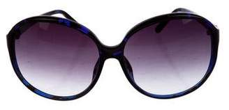 Matthew Williamson Tortoiseshell Gradient Sunglasses