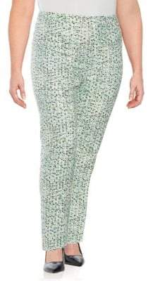 Carolina Herrera Printed Slim Pants