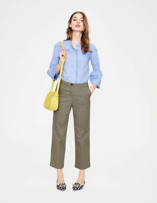 Boden Rachel Wide Crop Chino Pants