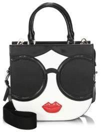 Alice + Olivia Charlie Stace Face Crossbody Bag