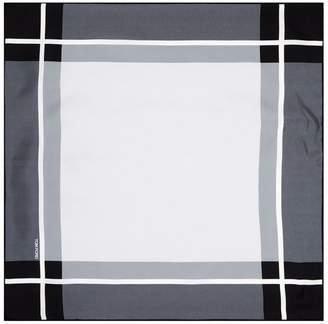 Tonal Checkerboard Silk Pocket Square