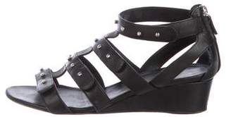 Gucci Studded Wedge Sandals