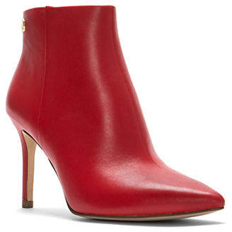 Louise et Cie Point Toe Leather Booties