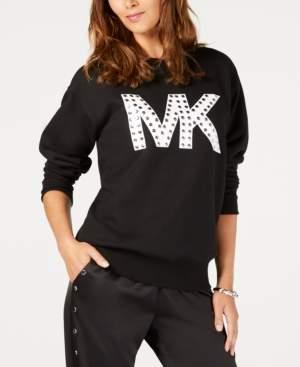 Michael Kors Michael Studded Logo Sweatshirt, Regular & Petite Sizes